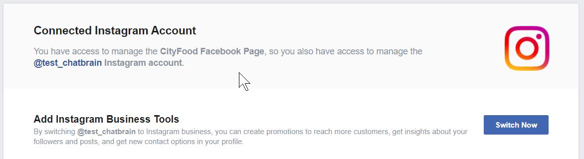 Add Instagram business tools
